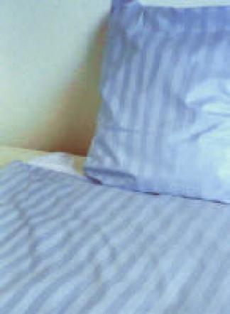 mischgewebe bettw sche 28 mm blockstreifen weiss sekt gelb blau apricot mintgr n f r hotel. Black Bedroom Furniture Sets. Home Design Ideas