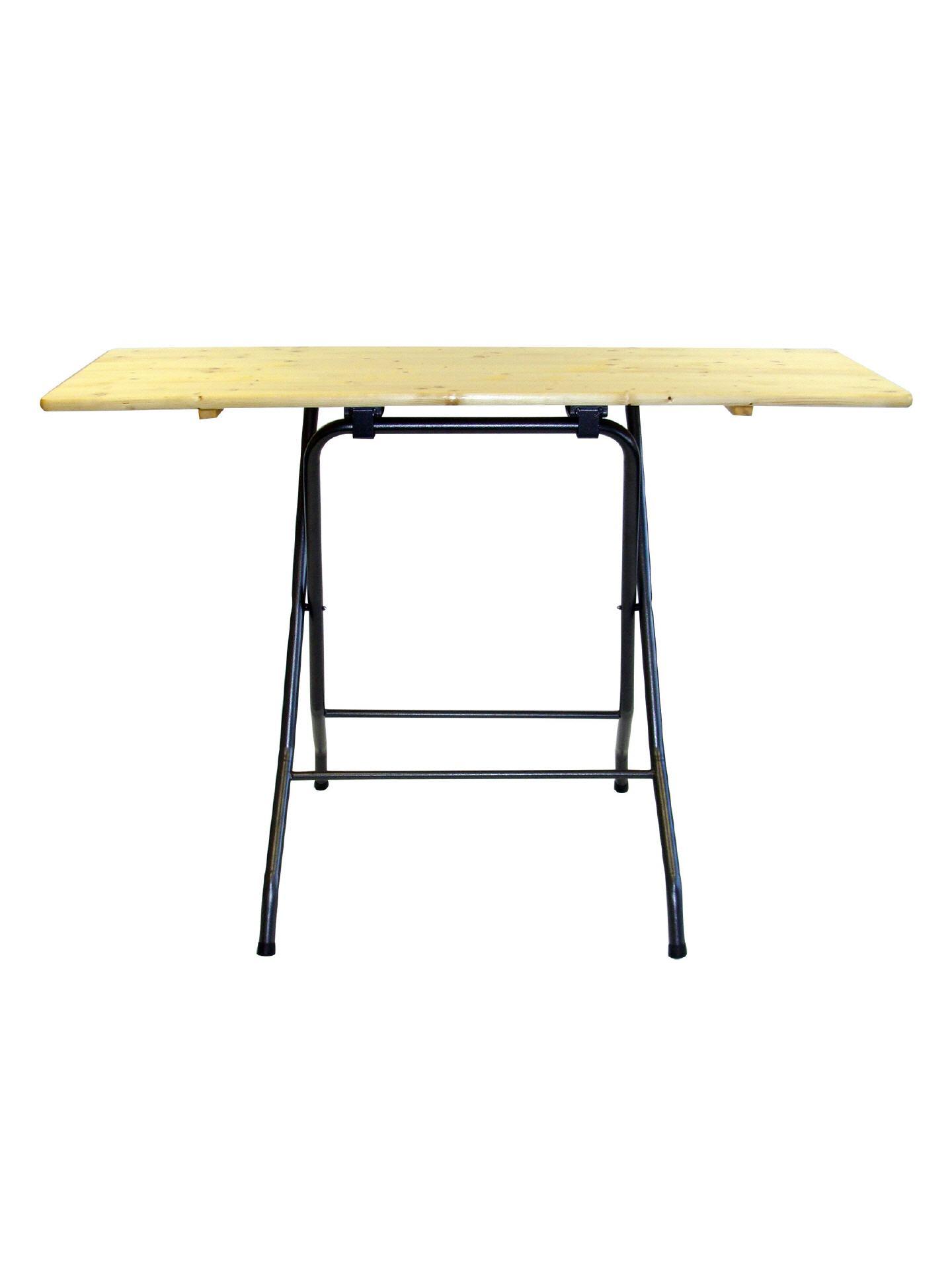 Stehtisch Rechteckig 60 160 Cm Mit Holzplatte Klappbar Gastrotex