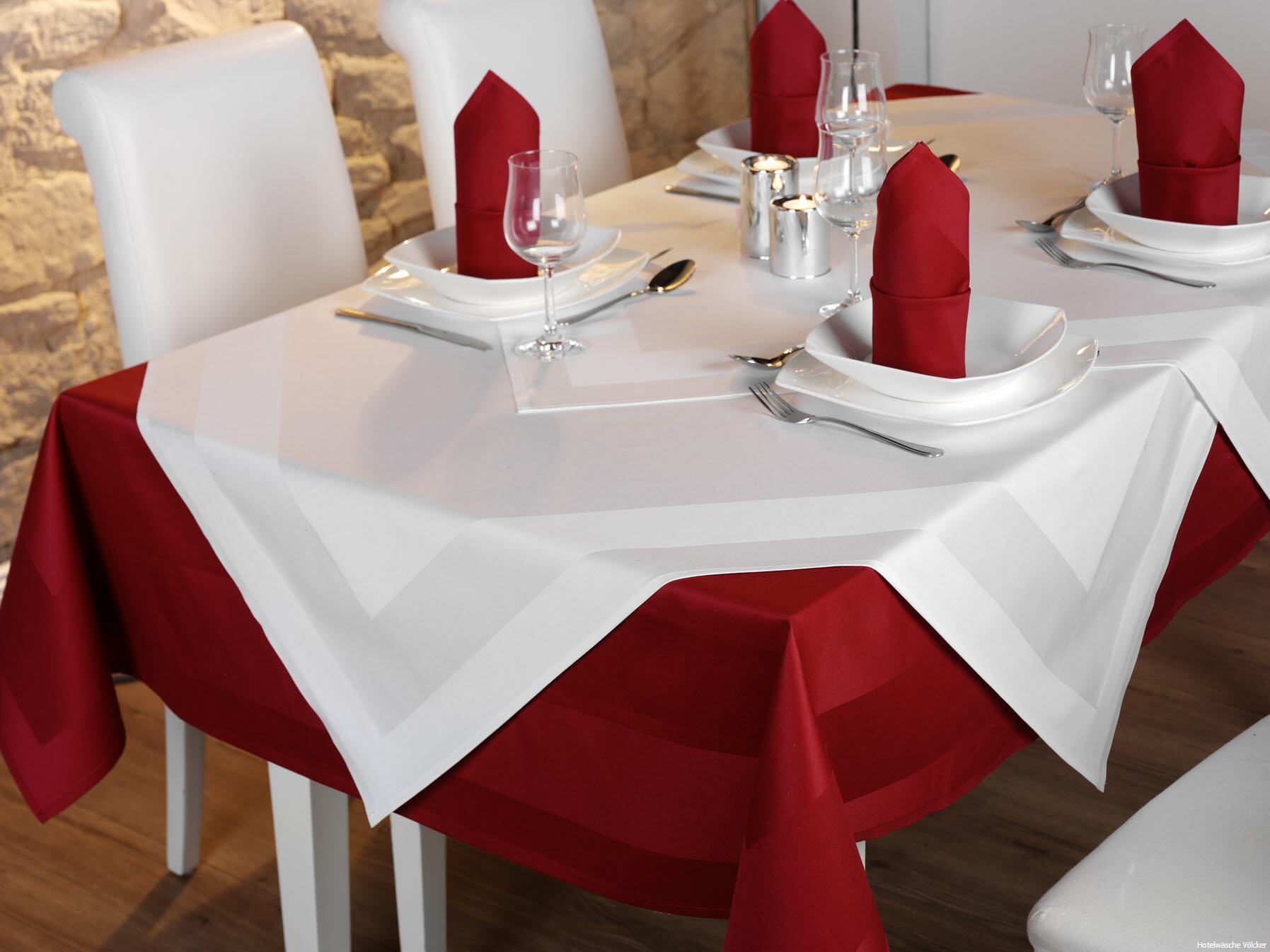Tisch Decken Pic : Tischdecken bordeaux Übersicht der lieferbaren