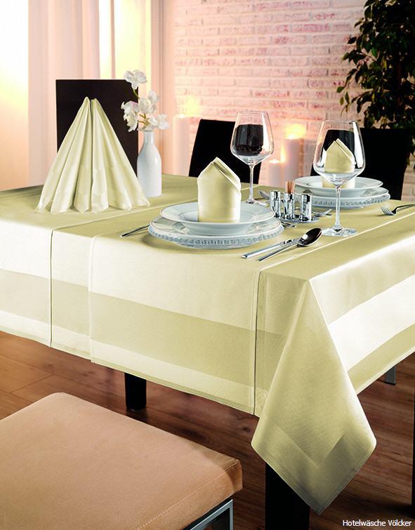 tischdecken sekt bersicht der lieferbaren tischdecken qualit ten in farbe sekt f r hotel. Black Bedroom Furniture Sets. Home Design Ideas