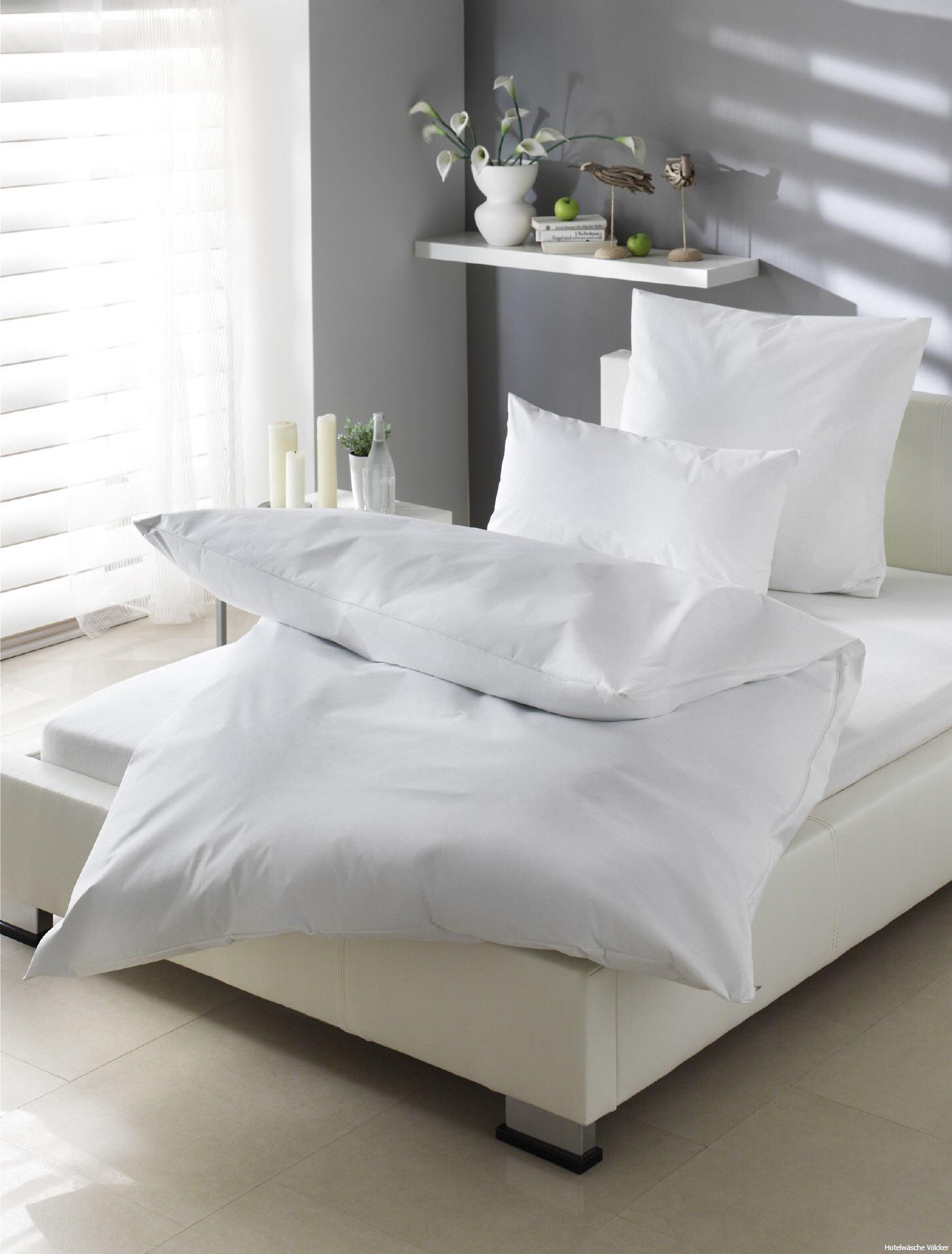 b gelfreie seersucker bettw sche stuttgart uni mit hotelverschlu f r hotel gastronomie. Black Bedroom Furniture Sets. Home Design Ideas